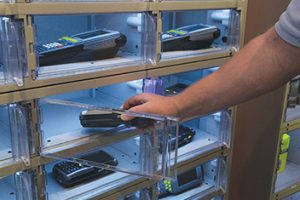 APEX Automated Lockers for storing data capture hardware
