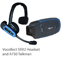 A730 Talkman & SRX2 Headset